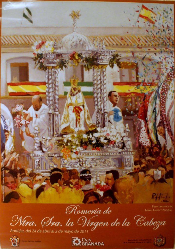 CARTEL DE LA ROMERÍA DE LA VIRGEN DE LA CABEZA AÑO 2011