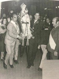 Manolo García Peña traslado Virgen de la Cabeza