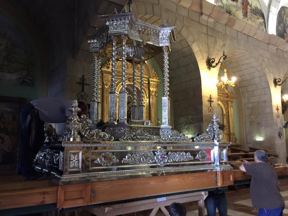 Andas Virgen de la Cabeza
