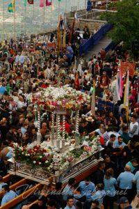 Andas Virgen de la Cabeza con anderos