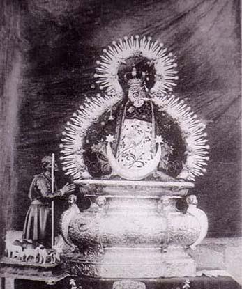Virgen de la Cabeza dibujo antiguo