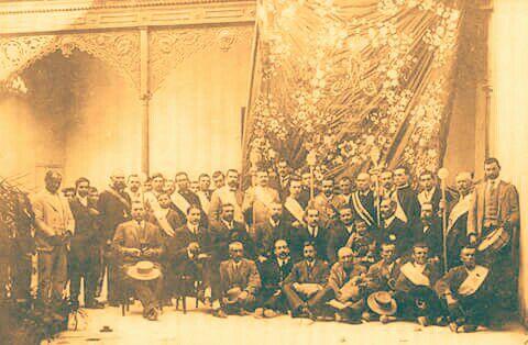 Cofradía Matriz Virgen de la Cabeza Año 1911 Hermano Mayor Manuel Montoro