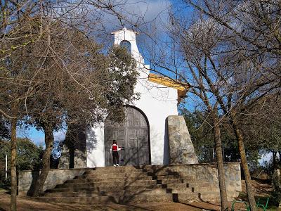 Ermita de San Gines camino Virgen de la Cabeza