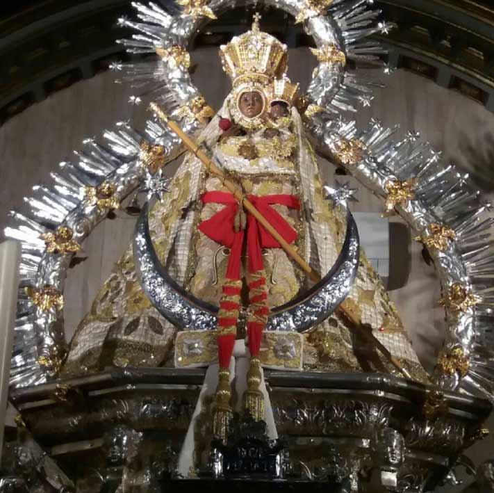 imagen virgen de la cabeza historia, coronas, mantos- actualizado