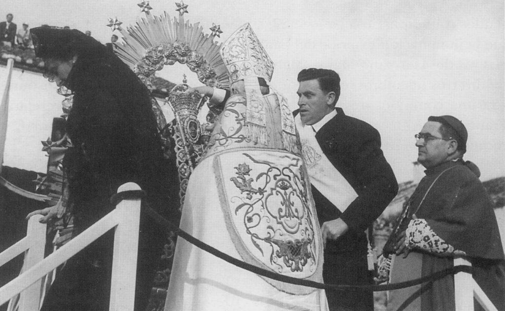 RECORONACIÓN DE LA VIRGEN DE LA CABEZA 1960