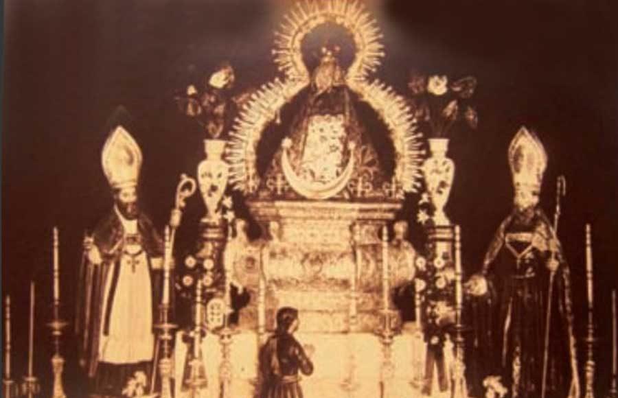 Virgen de la Cabeza foto antigua 1909-marzo