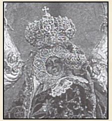 Virgen de la Cabeza primitiva rostro
