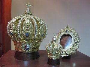 corona Virgen de la Cabeza oro