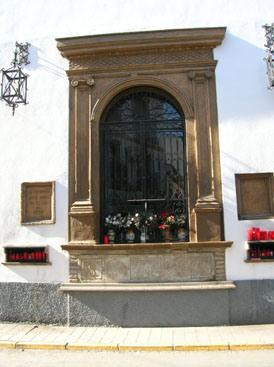 Cuadro de la Virgen de la Cabeza en Andújar