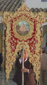 estandarte cofradia Matriz Virgen de la Cabeza