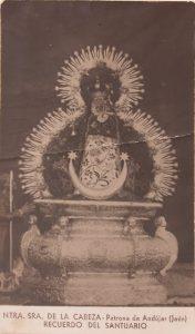 Virgen de la Cabeza estampa antigua