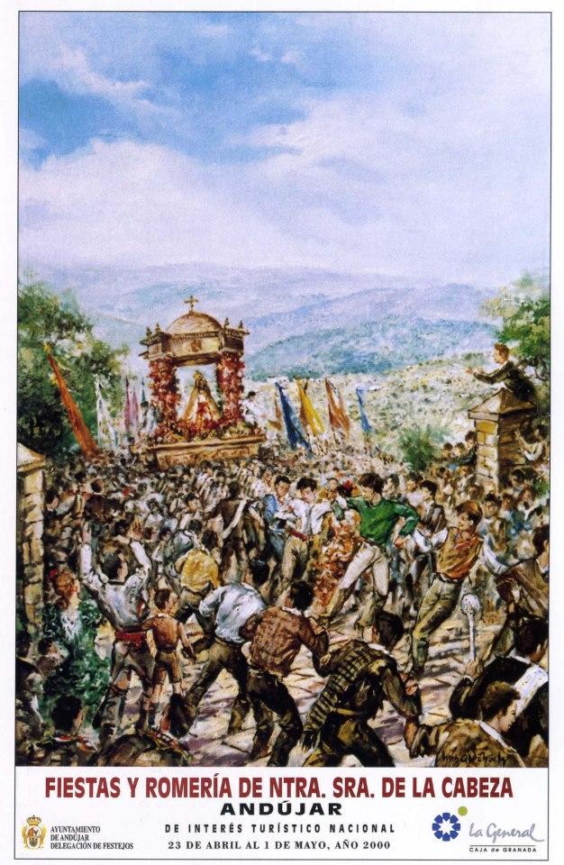Cartel Virgen de la Cabeza año 2000