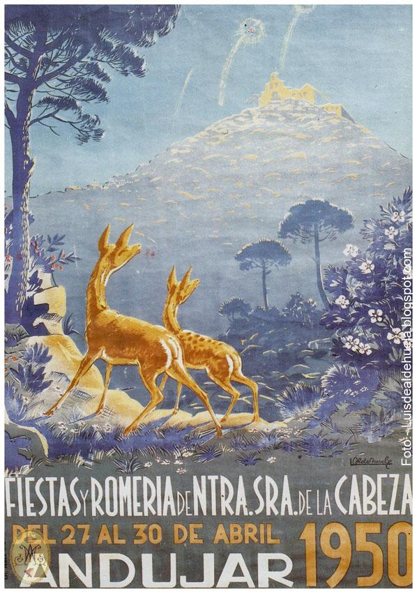 Cartel Romería 1950