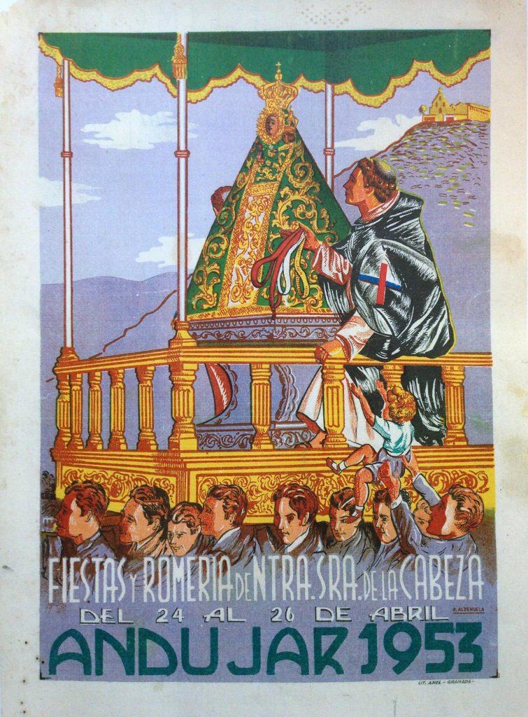 Cartel de romería 1953
