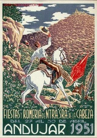 Cartel de romeria 1951