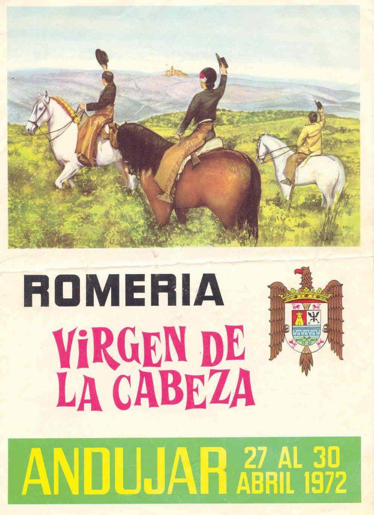 Cartel de romerÍa 1972