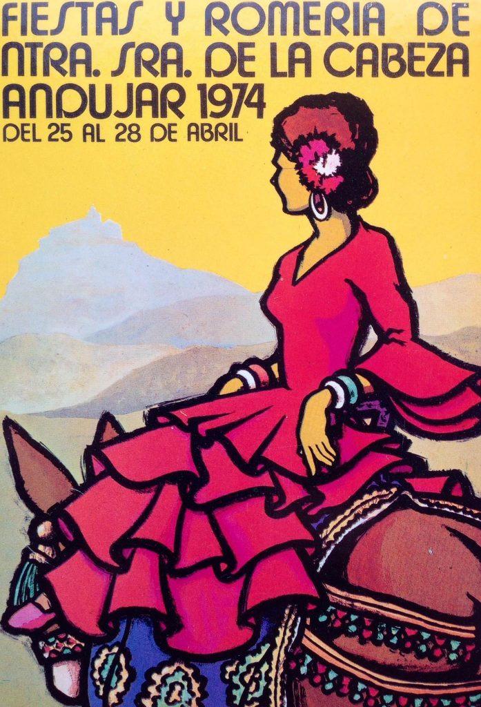 Cartel de romerÍa 1974