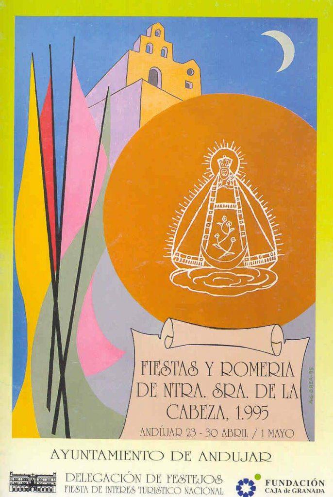 Cartel de romería 1995