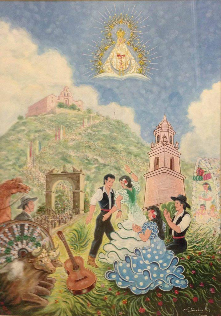 Cartel de romería 2001