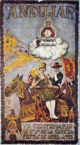Cartel romería Virgen de la Cabeza 1928