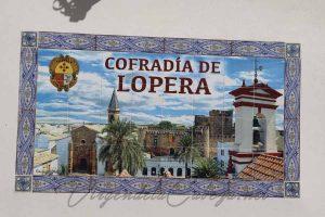 Cofradia El Carpio casa en el santuario cerámica