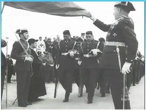 Jura de bandera en el Santuario 1974 3