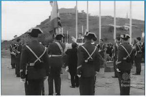 Jura de bandera en el Santuario 1974 4