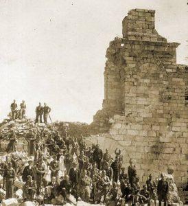 Santuario Virgen de la Cabeza reconstrucción