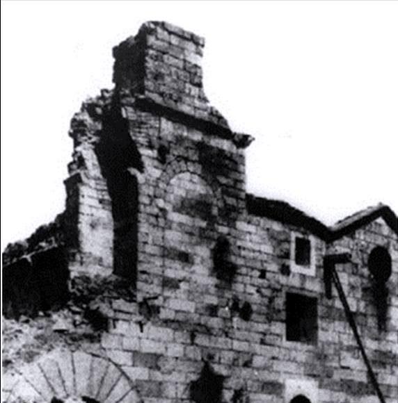 Santuario Virgen de la Cabeza derruido