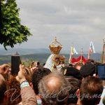 Traslado Virgen de la Cabeza a las andas