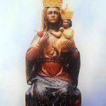 Virgen de la Cabeza sin vestir con corona
