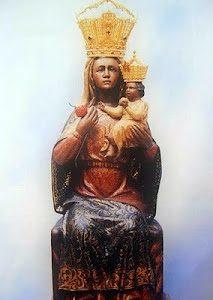 Talla Virgen de la Cabeza con corona