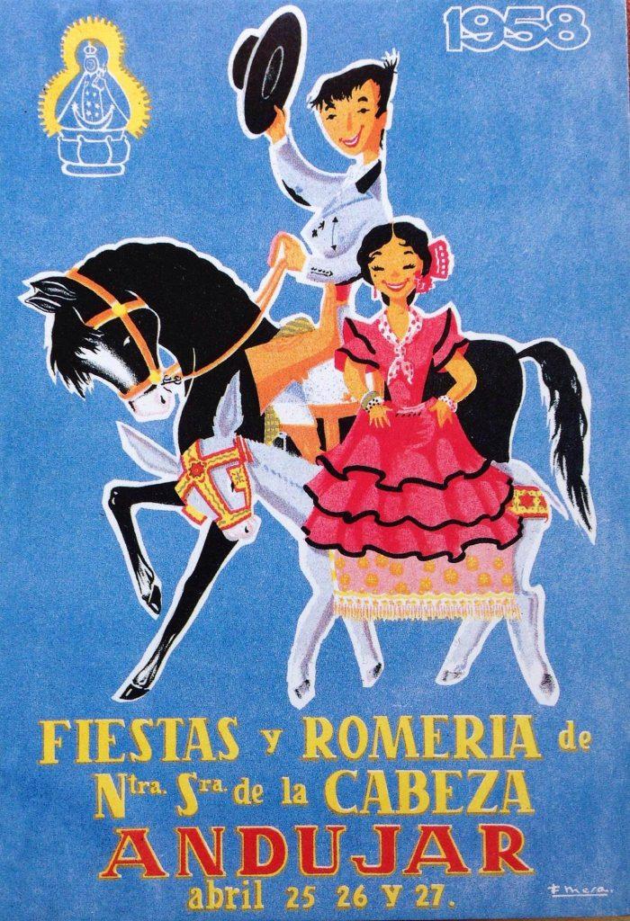 cartel 1958 Autor Fernando Mesa Rueda