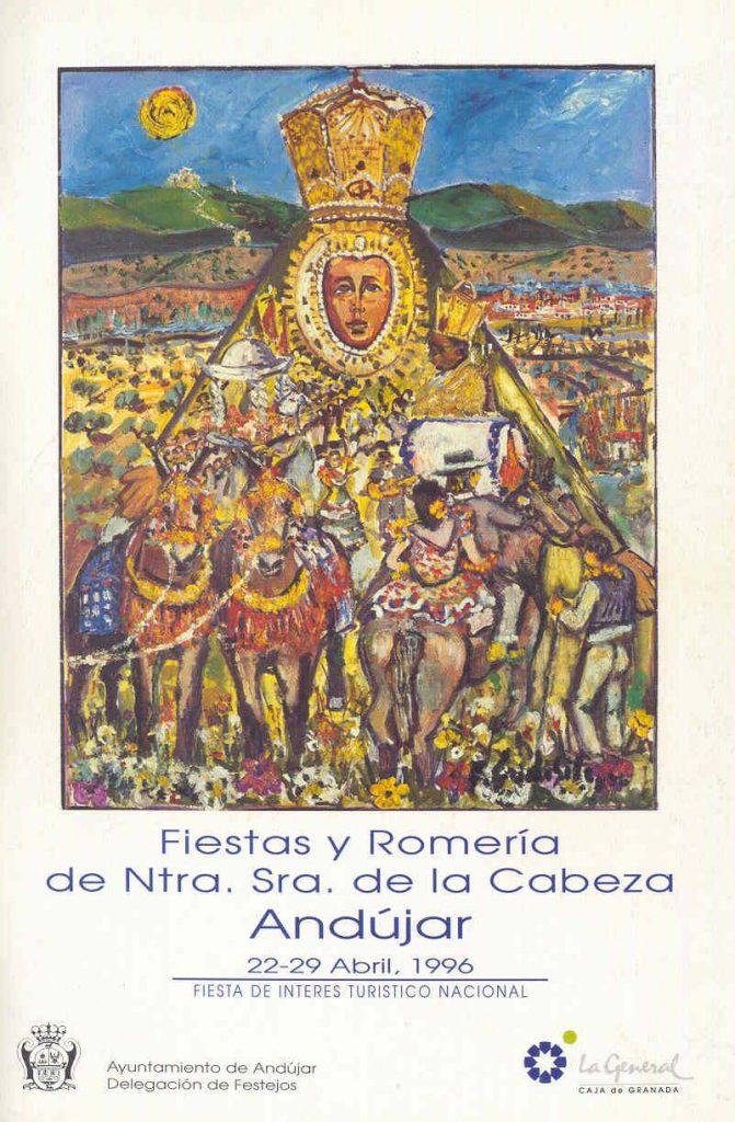 cartel de romería 1996