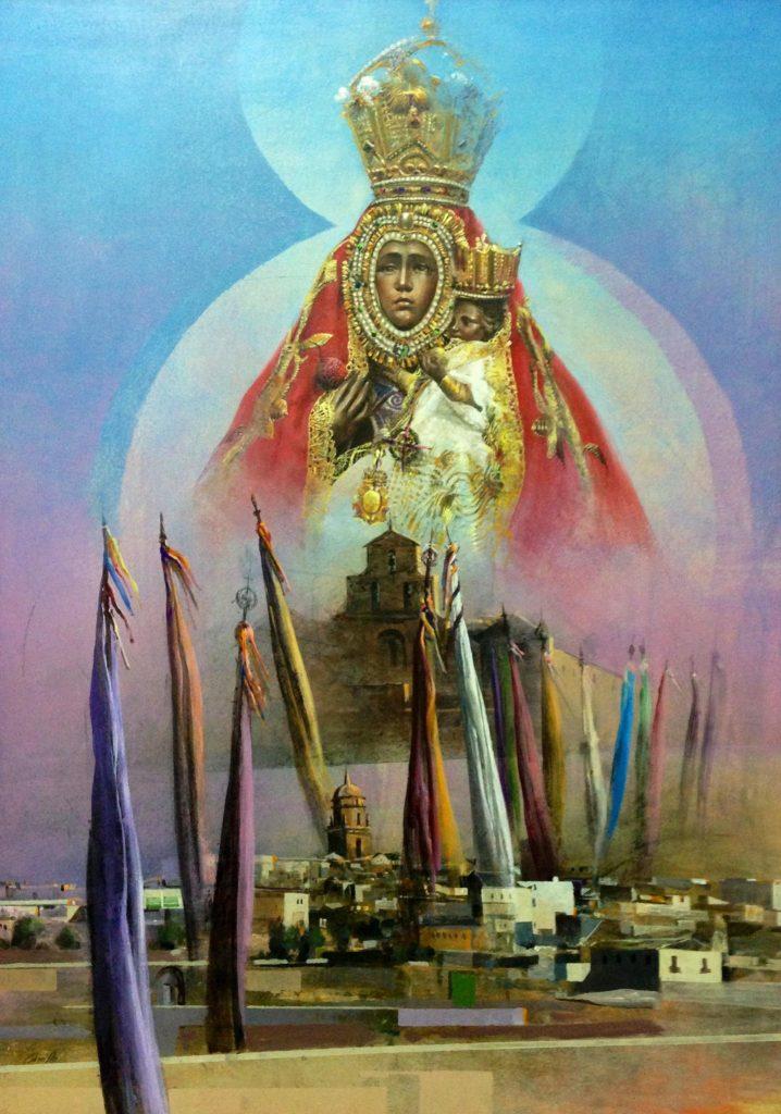 Virgen de la Cabeza cartel de romeria 2004