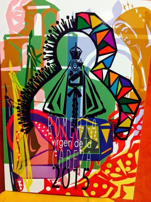 Virgen de la Cabeza cartel romería 2015