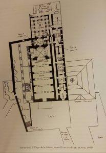 Plano santuario Virgen de la Cabeza