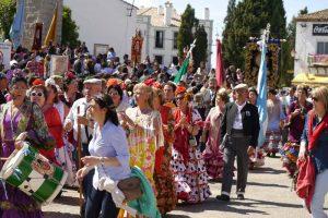 Romería-2014-Procesión-Virgen-de-la-Cabeza-3