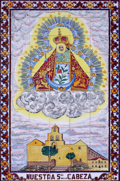 azulejo Virgen de la Cabeza