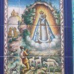 Mural ceramico Virgen de la Cabeza de Bartolomé Herrera