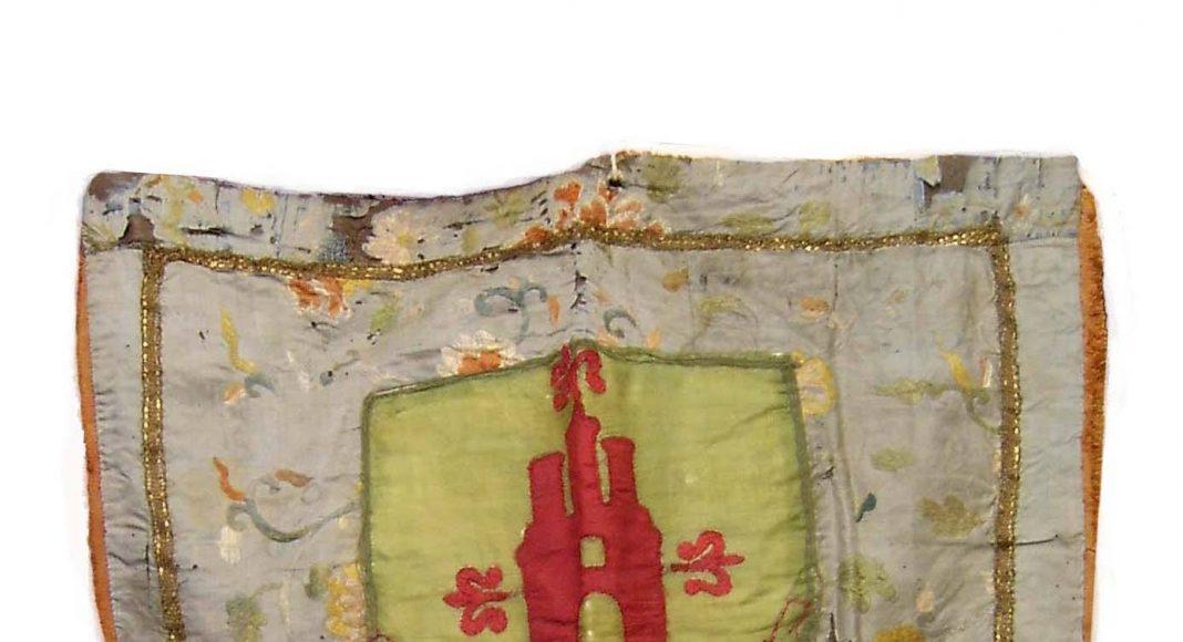 Estandarte Virgen de la Cabeza Torredonjimeno antiguo 1
