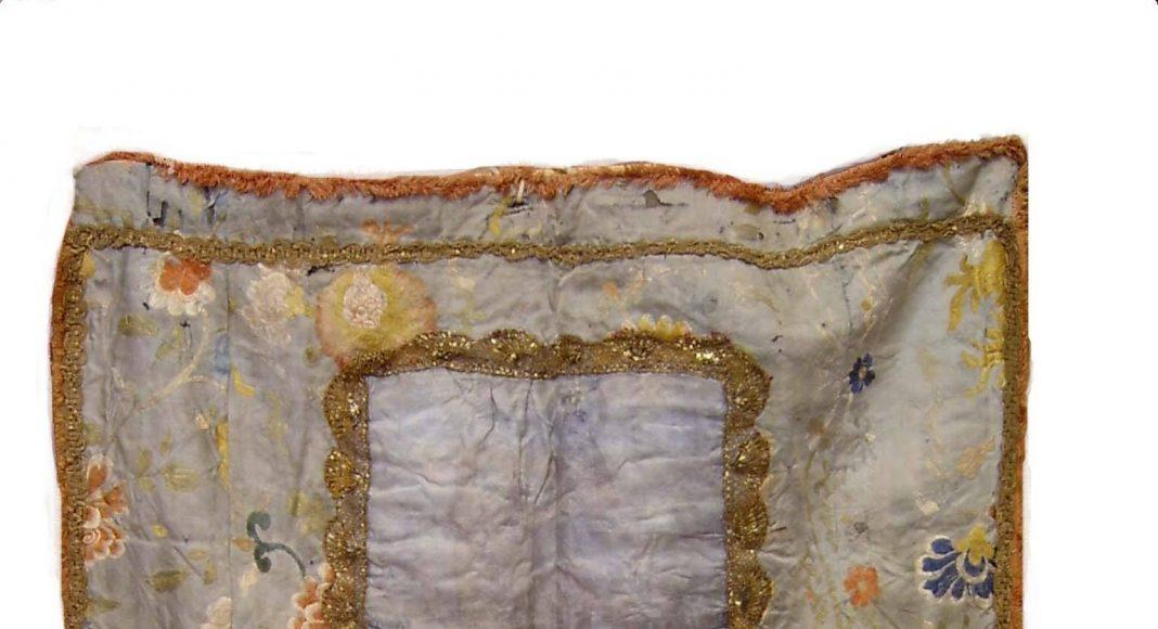 Estandarte Virgen de la Cabeza Torredonjimeno antiguo frontal