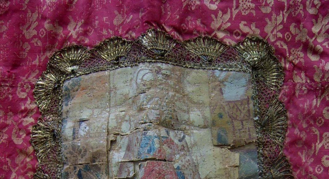 Estandarte antiguo Torredonjimeno detalle
