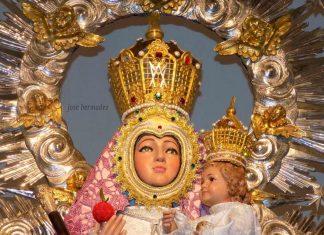 Virgen de la Cabeza ALCALA DE HENARES rostro 2