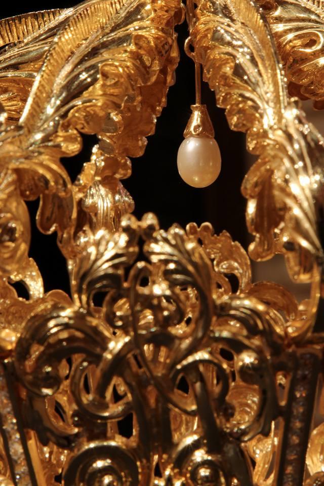 Virgen de la Cabeza de El Carpio detalle corona