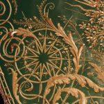 Virgen de la Cabeza de El Carpio manto bordado oro verde