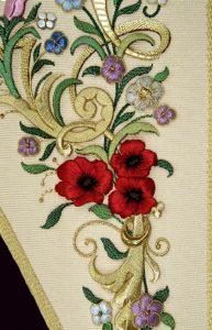 estandarte El Carpio detalle flor