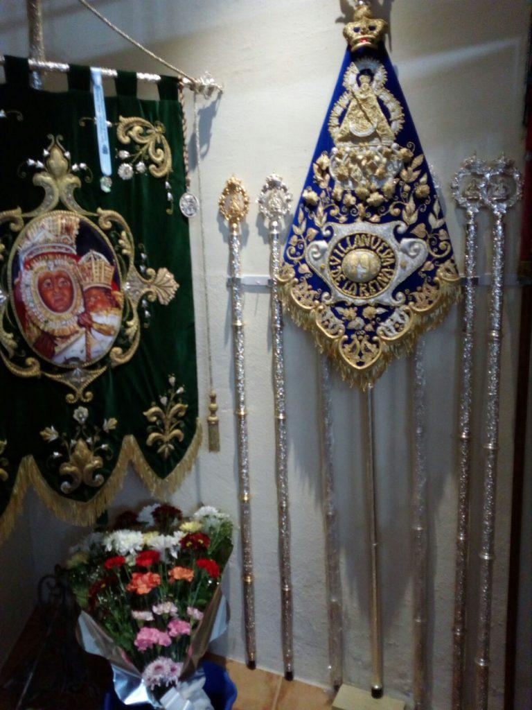 Guión de camino Cofradía de Villanueva de la Reina