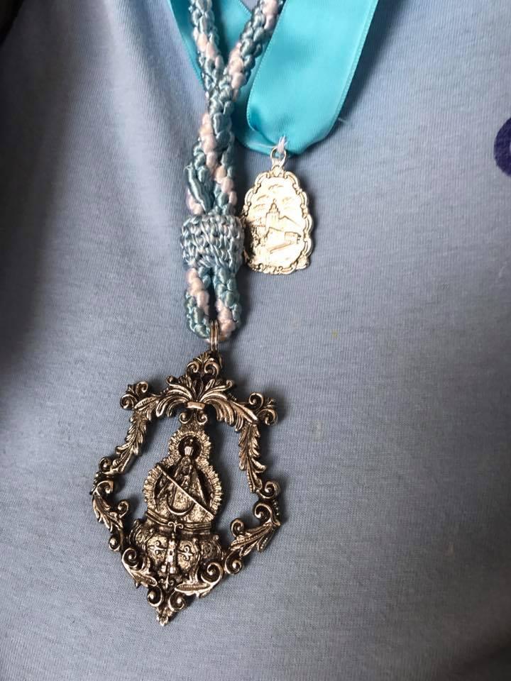 medalla Torredonjimeno Virgen de la Cabeza