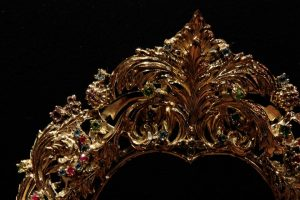 rostrillo Virgen de la Cabeza de El Carpio detalle